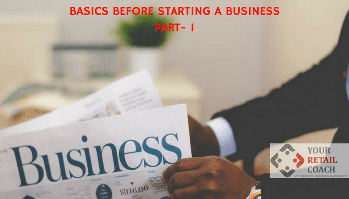 Basics Before Starting a Business