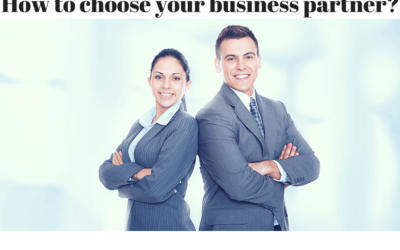 How to Choose Your Business Partner?