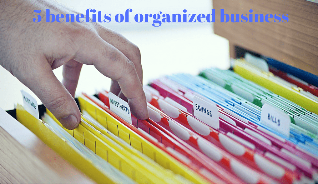 benefits of organized business