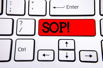 How a Well Written SOP Manual can Reduce Training Time and Cost