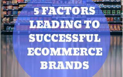 5 Factors Leading To A Successful E-commerce Brand