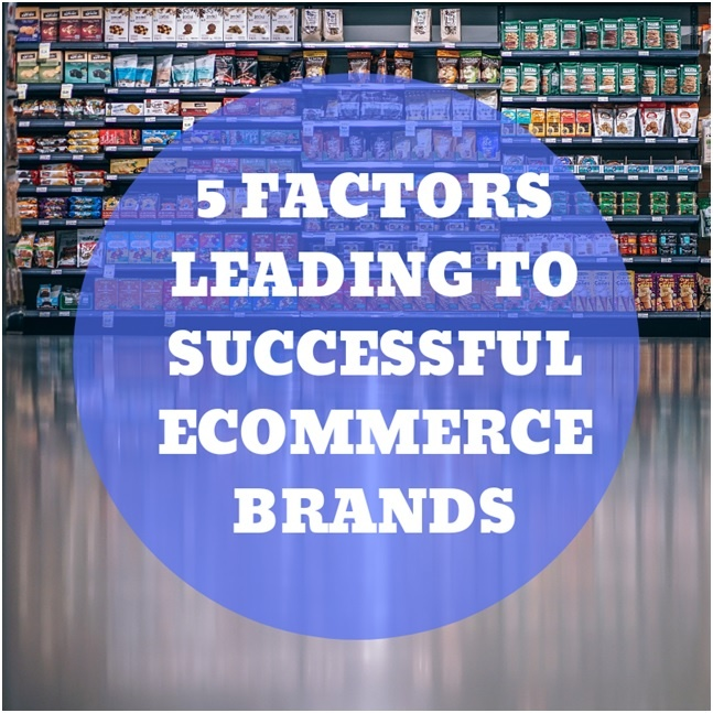 5 Factors Leading To A Successful E-commerce Brand
